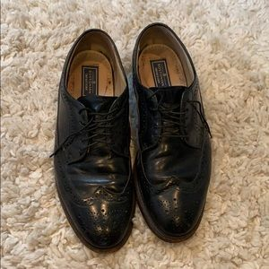 Bostonian Winged Tips Leather Oxford Dress Shoes